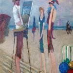 """""""Moi, le Peintre de Deauville"""" by dilley"""