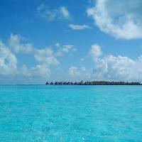 Bora Bora - Tahitian huts Art Prints & Posters by wade wright
