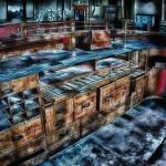 """""""Abandoned ticket counter"""" by dennisherzog"""