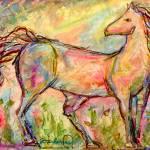 """Horse"" by DarleneBeville"