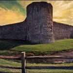 """Pevensey Castle"" by ChrisLord"