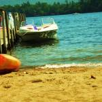 """Boat on beach"" by NatalieRobinson"