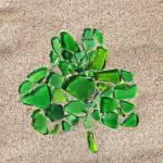 """Sea Glass Saint Patrick"