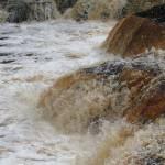 """Tahquamenon Falls in Motion"" by NikkiLeck"
