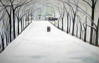 The Silent Snowfall  Walk