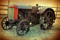 Photo of Antique Tractor Fine Art Print
