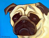 Light Blue Pug