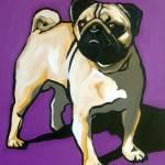 """""""Purple Pug"""" by AVApostle"""