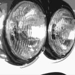"""When cars had glass headlights"" by DickGoodman"