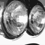 """When cars had glass headlights"" by DickGoodman"