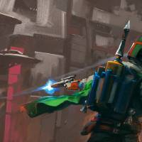Boba Fett in Missedkistan Art Prints & Posters by Carlos NCT