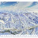 """""""Alta/Snowbird"""" by jamesniehuesmaps"""