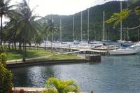 Marina on Saint Lucia