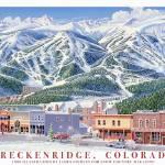"""Breckenridge Main Street"" by jamesniehuesmaps"