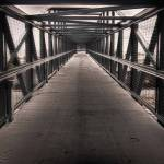 """Pedestrian bridge - Grand Junction, Colo."" by dennisherzog"