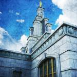"""Columbia River Temple"" by brycegandy"