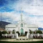 """Mount Timpanogos Temple"" by brycegandy"