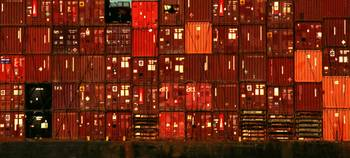 Cargo Containers Port of Seattle