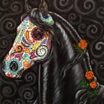 """""""Caballo de los Muertos"""" by gypsymarestudios"""