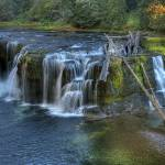"""0218 Lower Falls Lewis River Washington"" by vincentlouis"