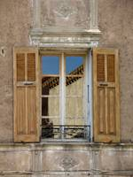 Provence Window Reflection