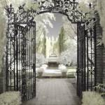 """Filoli Gate"" by diannepoinskiphotography"