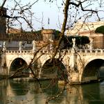 """""""Bridge over Water in Rome, Italy"""" by KatieBPhoto"""
