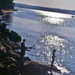 """Sunbeam Fishing"" by katelynch"