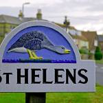 """Village Sign, St Helens (24574-RDA)"" by rodjohnson"