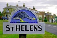 Village Sign, St Helens (24574-RDA)