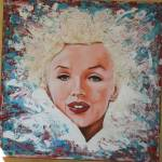 """Marilyn Monroe Abstract"" by richardnunez"