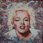 """Abstract Marilyn Monroe"" by richardnunez"