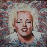 """Abstract Marilyn Monroe"" by richardnunez"