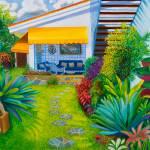 """""""Porch in Caracas, Venezuela"""" by Roxa"""
