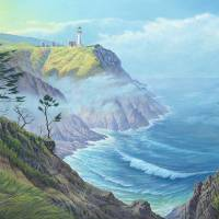 North Head, Washington Art Prints & Posters by James Niehues