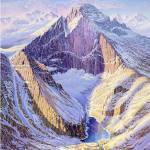 """""""Longs Peak, no title"""" by jamesniehuesmaps"""