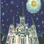 """Starry Night Cathedral"" by jkschwehm"