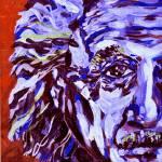 """""""Electric Blue Einstein"""" by BairdHoffmire"""