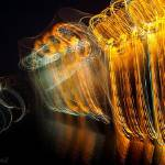 """Painting MUSIC with Light 4"" by ArtAjanovic"