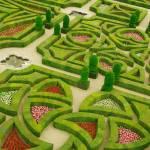 """Villandry Gardens - France"" by PeterBurbridge"