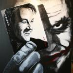 """Joker and Heath Ledger"" by richardnunez"