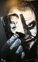Joker and Heath Ledger