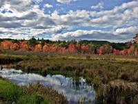 Fall Scene In Francestown New Hampshire