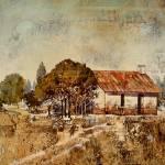 """""Farm House"""" by BrianRolfeArt"