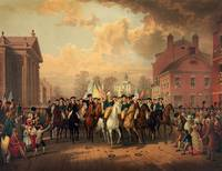 Wasington's Triumphant Arrival into NYC by WorldWide Archive