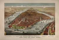 Birdseye View of New York City 1876 by WorldWide Archive