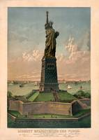 Liberty Enlightening the world by WorldWide Archive