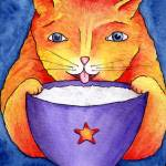 """Coffee cat"" by GayleMadeira"