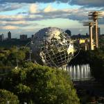 """Queens, New York City - Unisphere"" by Ffooter"