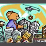 """Urban Renewal"" by chrisnunndesign"